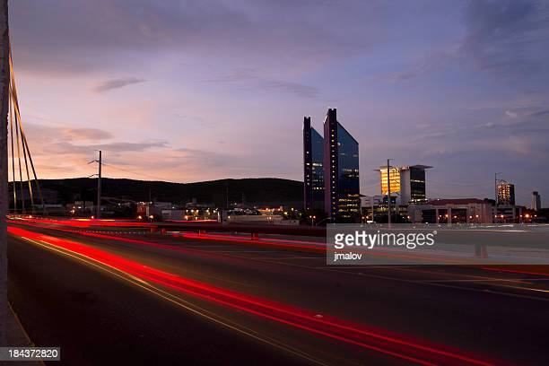 skyline in monterrey - monterrey stock pictures, royalty-free photos & images