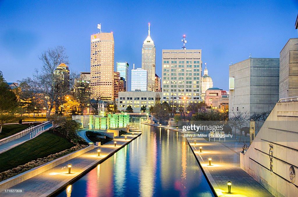 Skyline Indianapolis : Stock Photo
