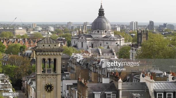 Skyline looking towards Brompton Oratory Commerical stock portfolio na United Kingdom Architect na 2015