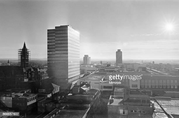 Skyline Middlesbrough North Yorkshire November 1979