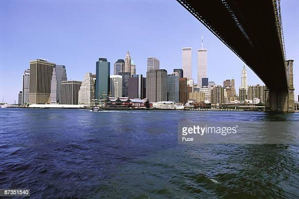 skyline new york - ニューヨーク郡 ストックフォトと画像