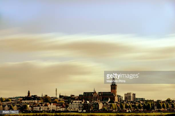 skyline nijmegen - nijmegen stock pictures, royalty-free photos & images