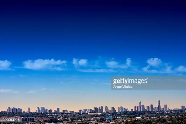 Skyline of Benidorm