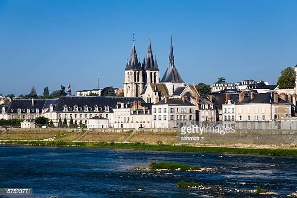 Panorama de Blois et la cathédrale