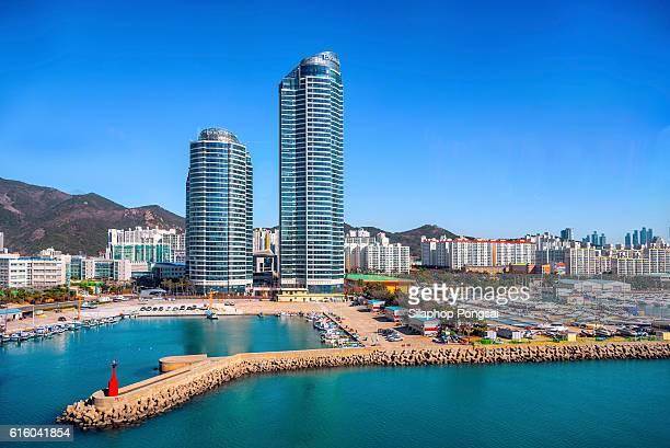 Skyline of Busan, South Korea