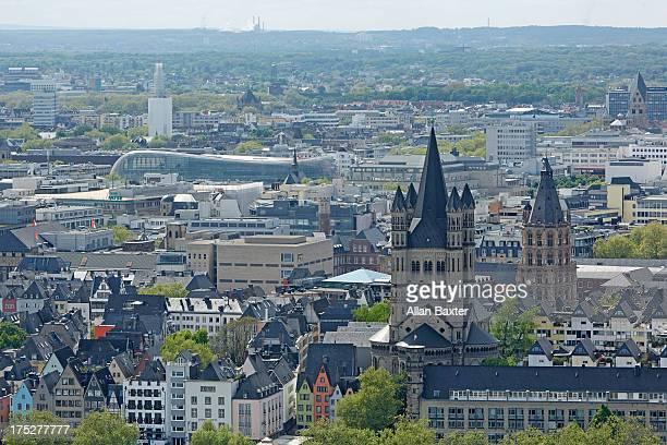 Skyline of Cologne Aldstadt