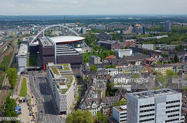 skyline of Cologne with Lanxess arena