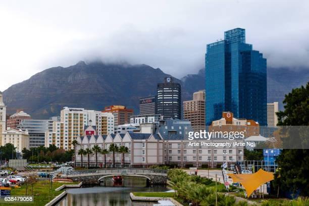 Skyline of De Waterkant, Cape Town, South Africa