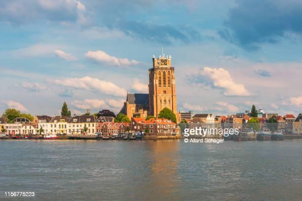 skyline of dordrecht netherlands - dordrecht stock pictures, royalty-free photos & images