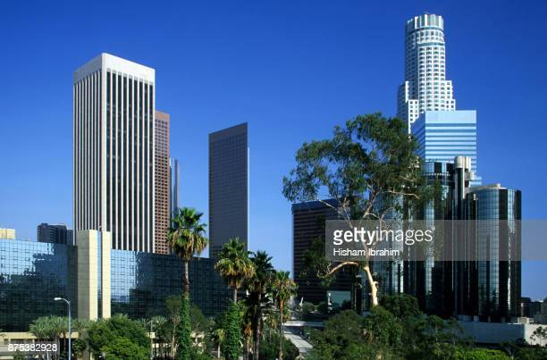 Skyline of Downtown Los Angeles - California, USA