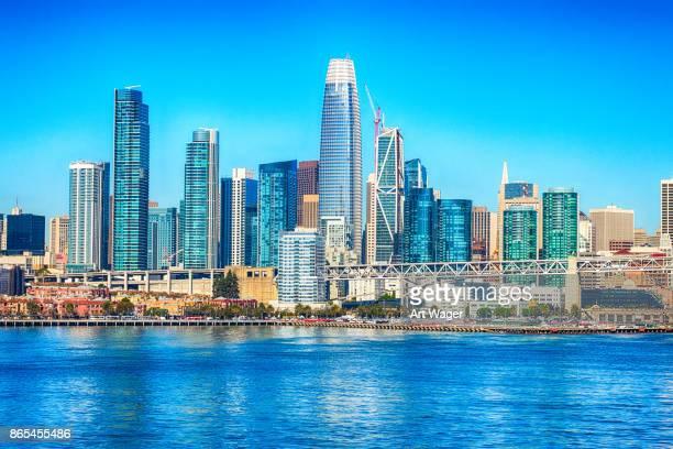 Skyline of Downtown San Francisco California