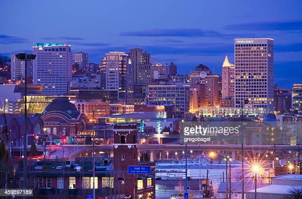 Skyline of downtown Tacoma, WA
