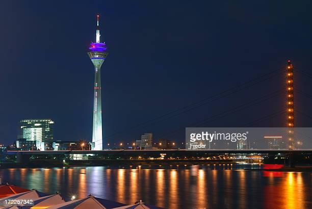 skyline von Düsseldorf, Deutschland