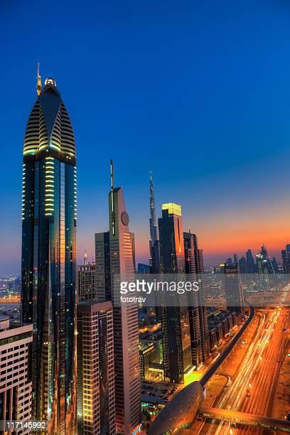 Skyline of Dubai Financial District