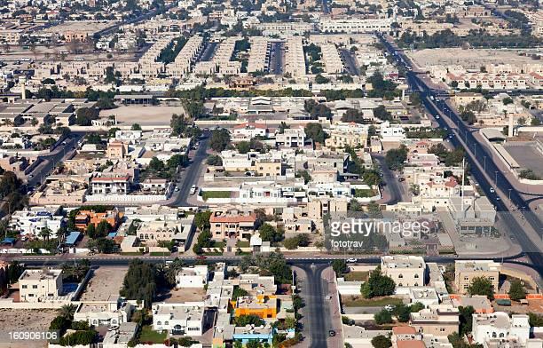 Skyline of Dubai residential district