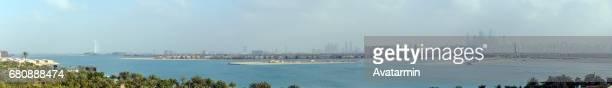 skyline of Dubai - United Arab Emirates