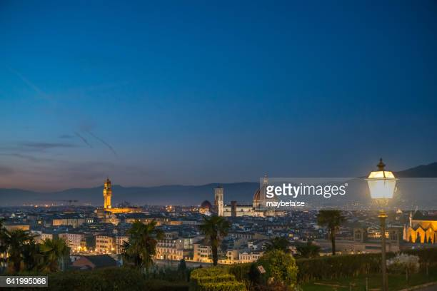 Skyline of Florence from the Piazzale Michelangelo