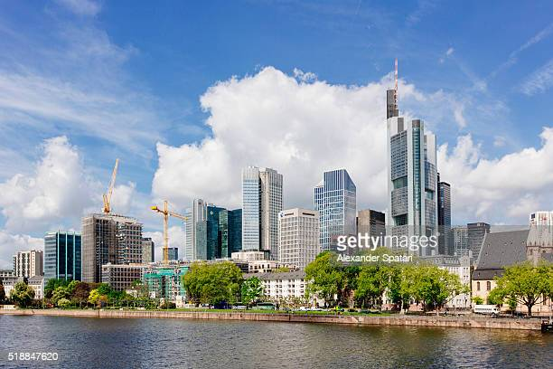 Skyline of Frankfurt am Main, Germany