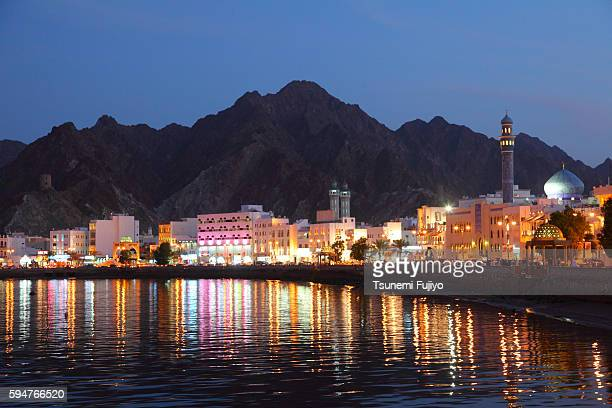 Skyline of Greater Masqat, Oman