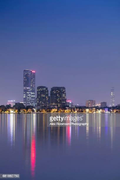 Skyline of Hanoi