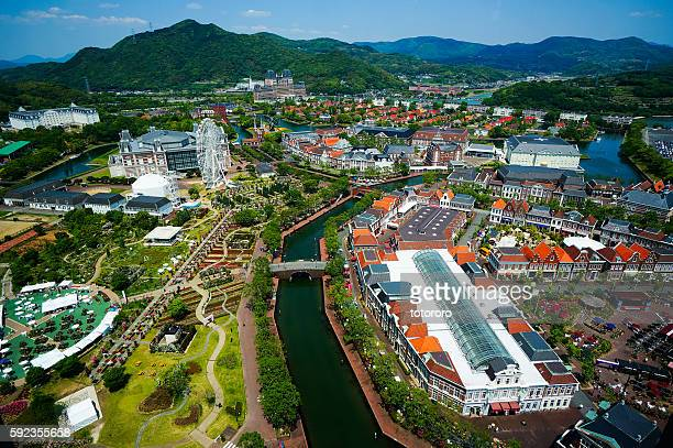 Nagasaki prefecture stock photos and pictures getty images for Nagasaki huis ten bosch