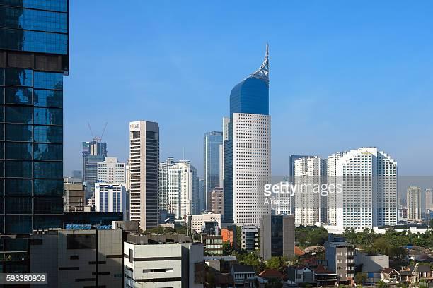 Skyline of Jakarta
