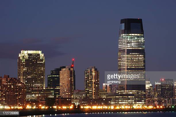 Skyline of Jersey City