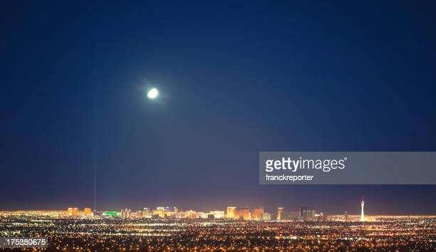 Skyline of Las Vegas valley