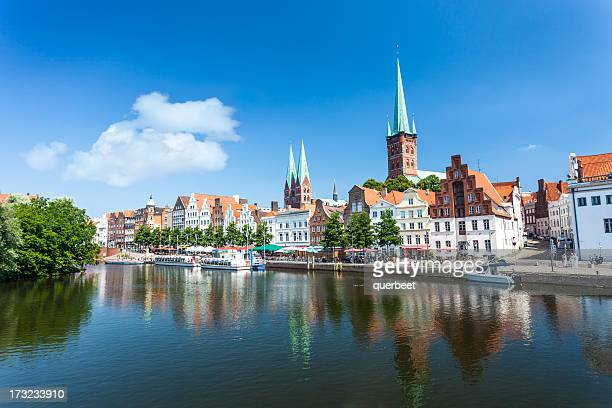 Skyline of Lübeck