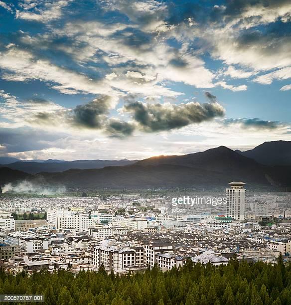 Skyline of Lijiang