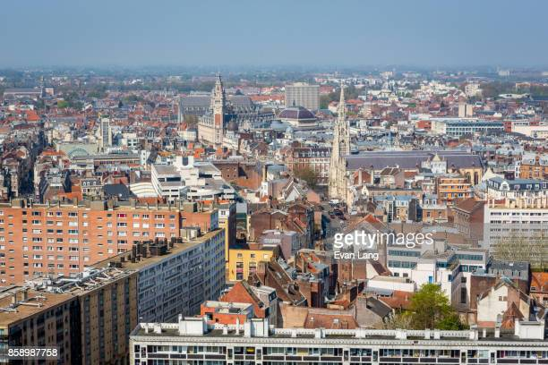 Skyline of Lille, France