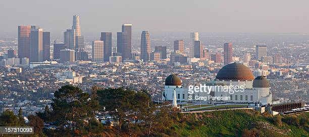 Skyline of Los Angeles, California - USA