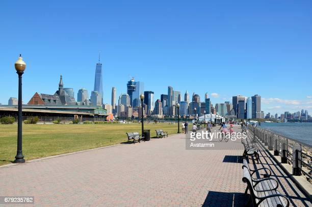 skyline of Manhattan - New York City - USA