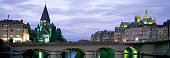 panorama moyen pont bridge temple neuf