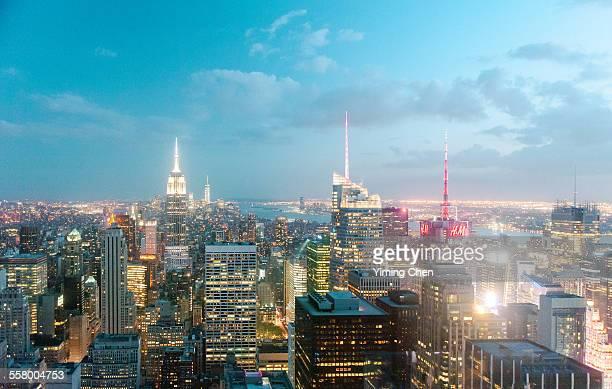 Skyline of Midtown Manhattan