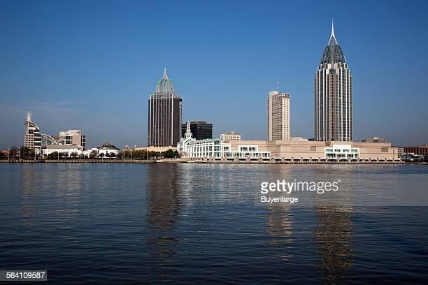 Skyline of Mobile Alabama