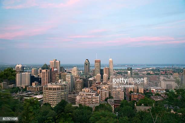 Skyline of Montreal