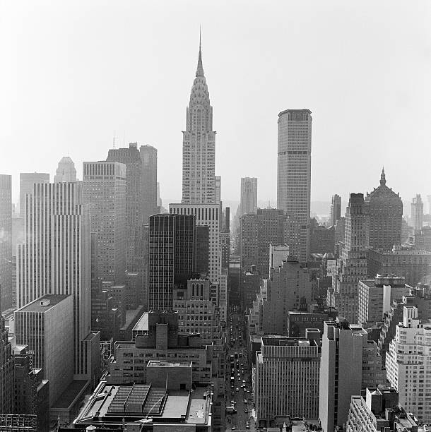 Skyline Of New York City, Empire State Building. Wall Art