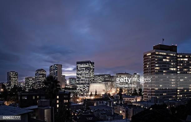 Skyline of Oakland