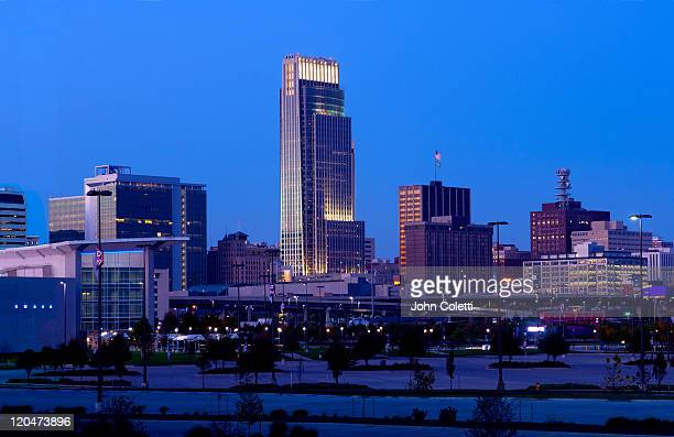 Skyline Of Omaha, Nebraska