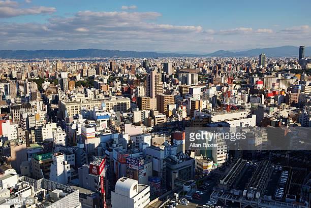 Skyline of Osaka
