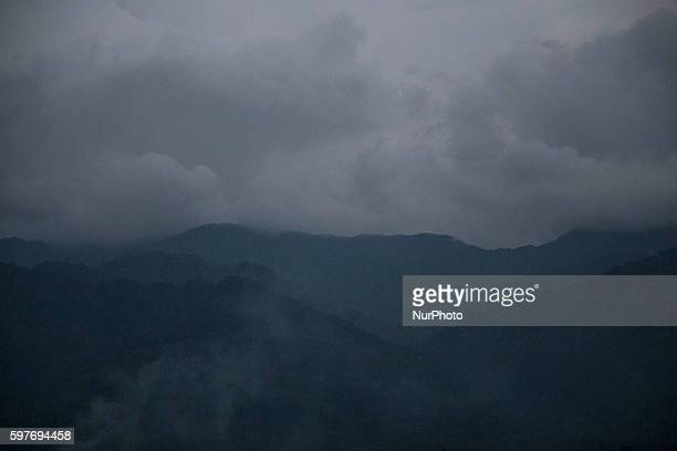 Skyline of Padang West Sumatra Indonesia on 29 August 2016 The latest official estimate for January 2014 shows a population of 5790 West Sumatra is...