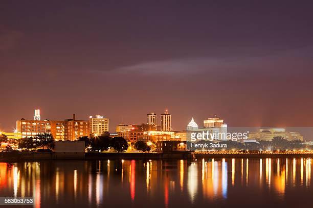 skyline of peoria - ペオリア ストックフォトと画像