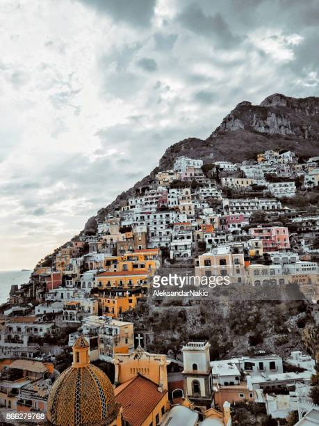 Skyline of Positano, Italy