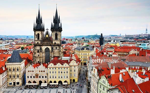 Skyline of Prague