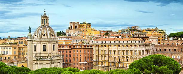 """Skyline of Rome, Italy"""