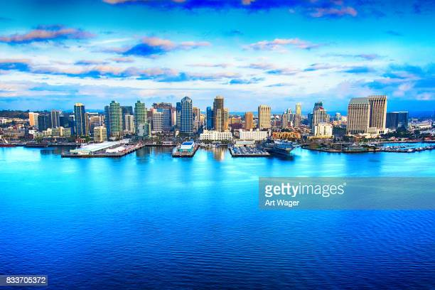Skyline von San Diego California Antenne