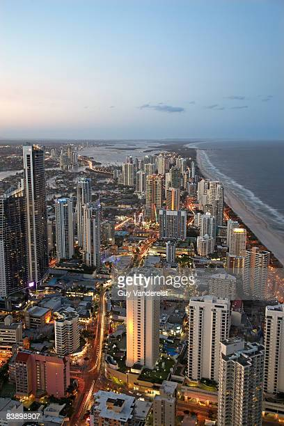 Skyline of Surfers Paradise