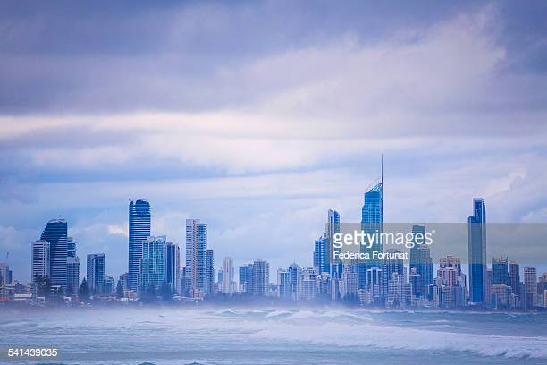 Skyline of the City of Gold Coast, Australia