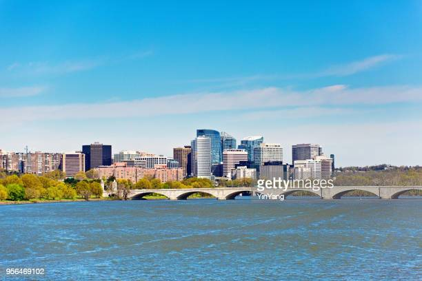 skyline of the city of reston, virginia, usa - washington dc stock pictures, royalty-free photos & images